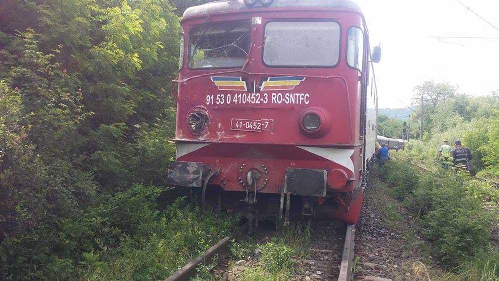 O batrana a inceput ziua prost – a fost calcata de un tren